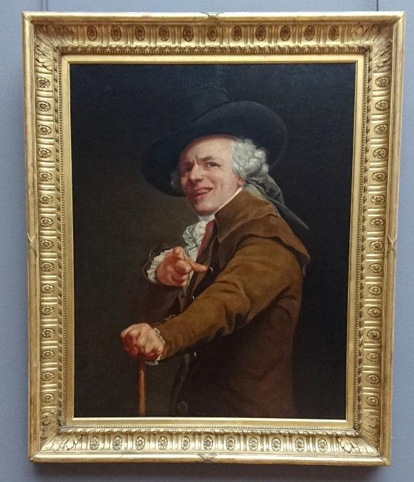 Joseph Ducreux autoretrato louvre
