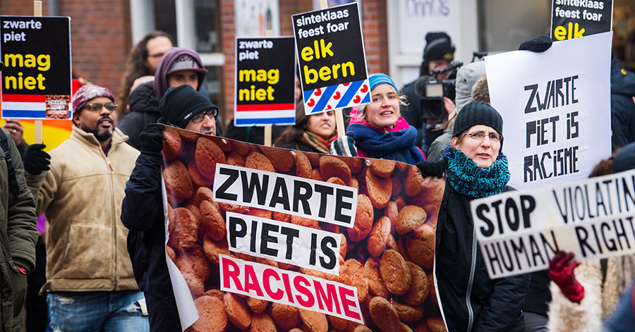 activistas anti zwarte piets