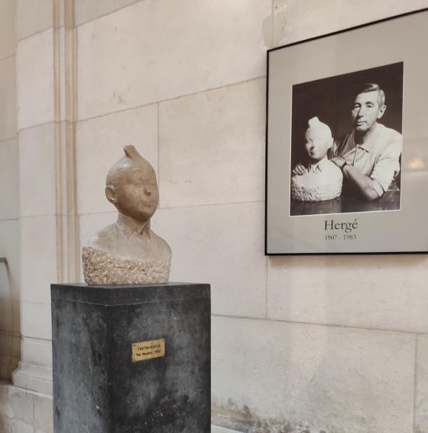 Busto de Tintin
