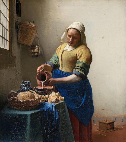 la lechera vermeer