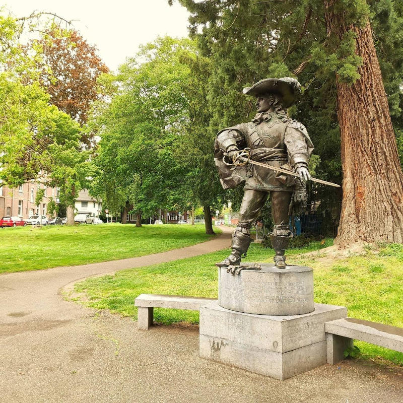 estatua D'Artagnan maastricht